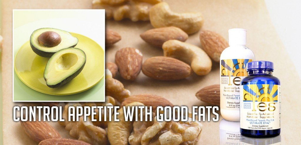 Control appetite with good fats