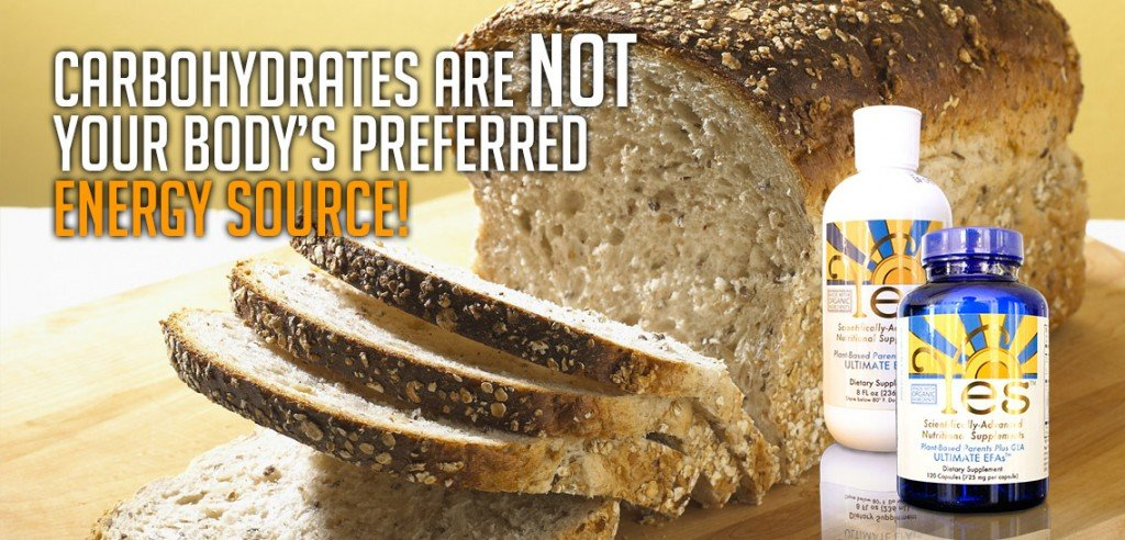 Carbs are not your bodys preferred energy source